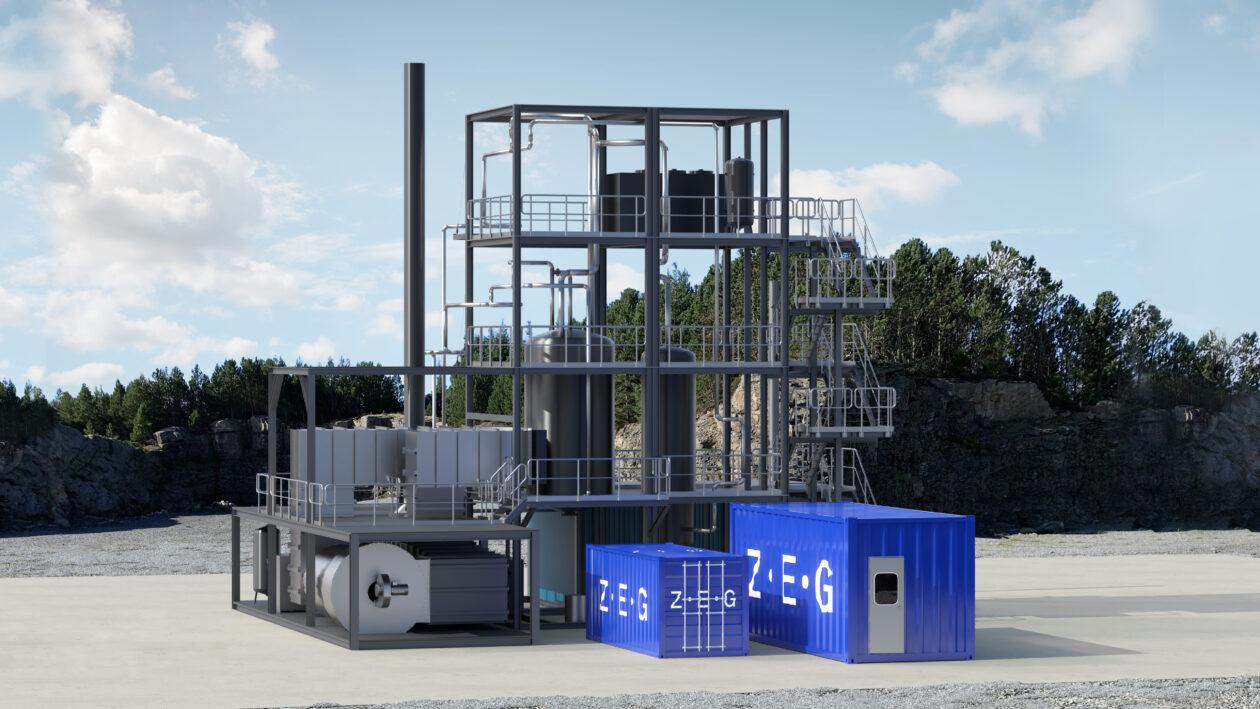 Plant at CCB Energy Park, Kollsnes